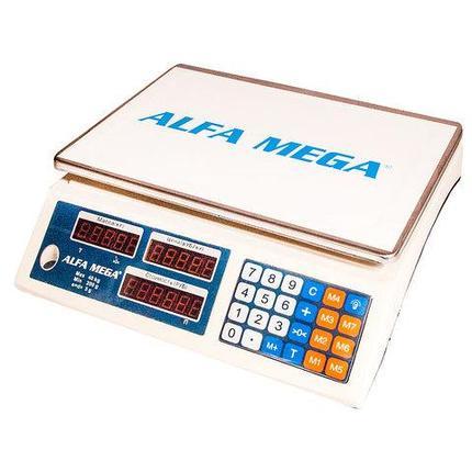 Весы настольные торговые электронные ALFA MEGA ACS-788, фото 2