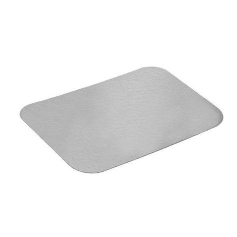 Крышка к алюминиевой форме 207x142мм, картон/алюминий, 1000 шт, фото 2