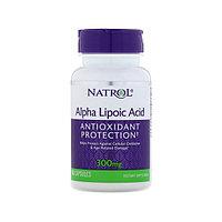 Антиоксидант Natrol - Alpha Lipoic Acid, 300 мг, 50 капсул