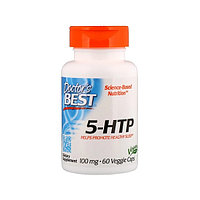 Антидепрессант Doctor's Best - 5-HTP, 100 мг, 60 таблеток