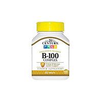 Витамины группы B 21st Century - B-100 Complex, 60 таблеток