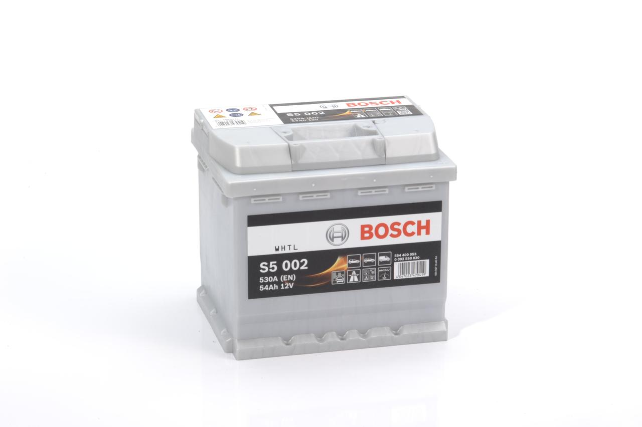 Аккумулятор для автомобиля BOSCH 54Ah 554 400 053