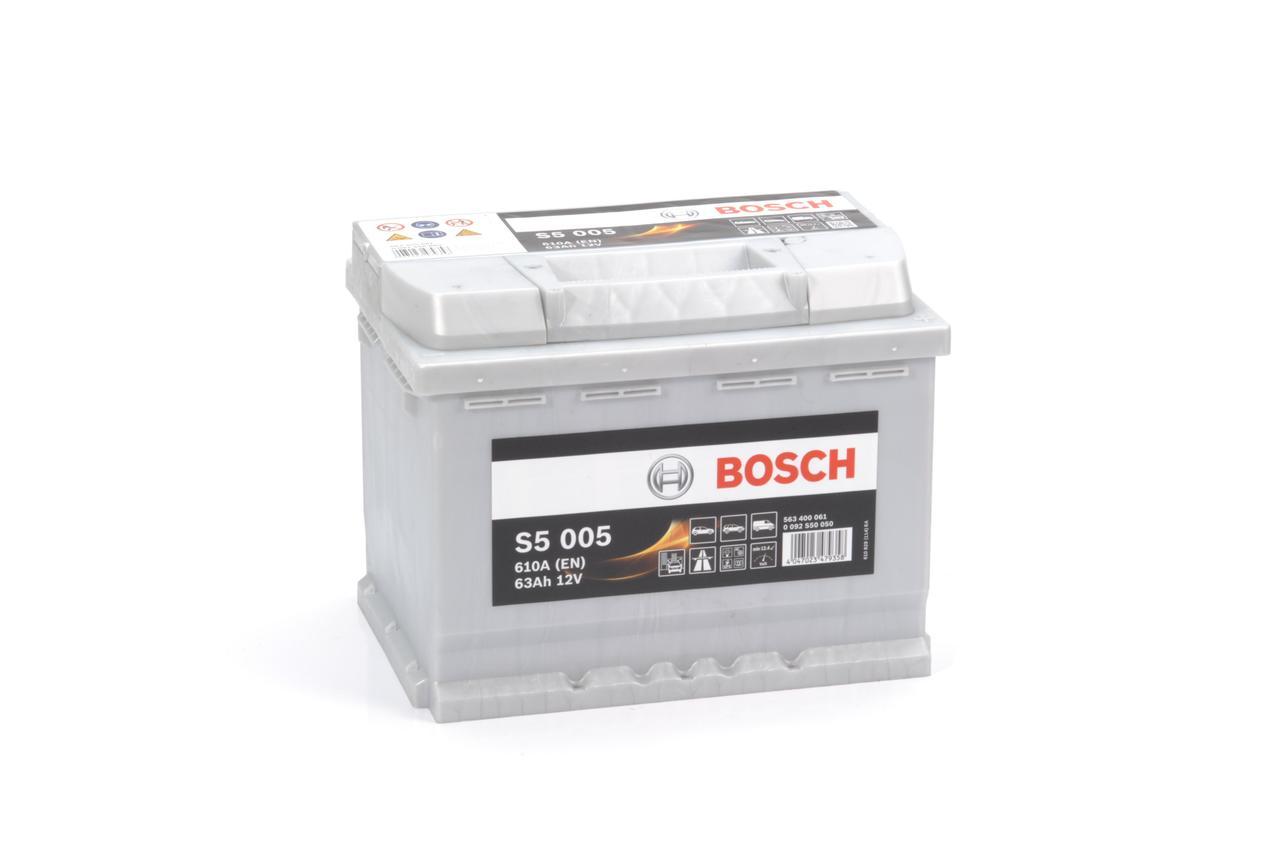 Аккумулятор BOSCH 63Ah 563 400 061