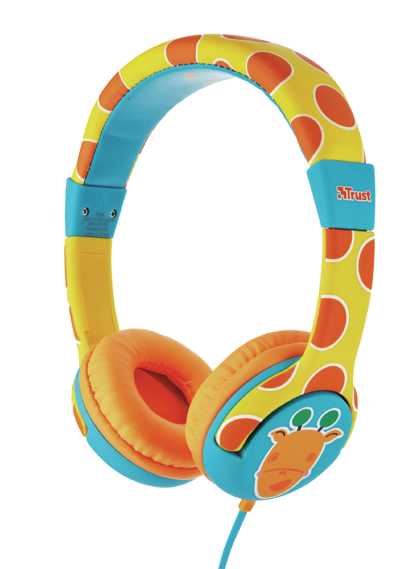 Наушники детские Trust Spila Kids Giraffe проводные