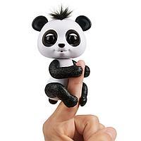 Интерактивная панда Фингерлингс черно-белая, фото 1