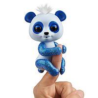 Фингерлингс панда интерактивная Fingerlings сине-белая, фото 1