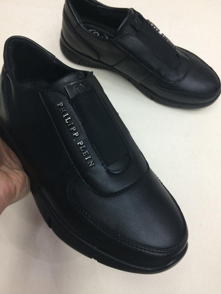 Туфли брендовые Philipp Plein подростковые - фото 4