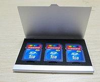 Кейс для флеш карт KF07 стальной  3 в 1, фото 1