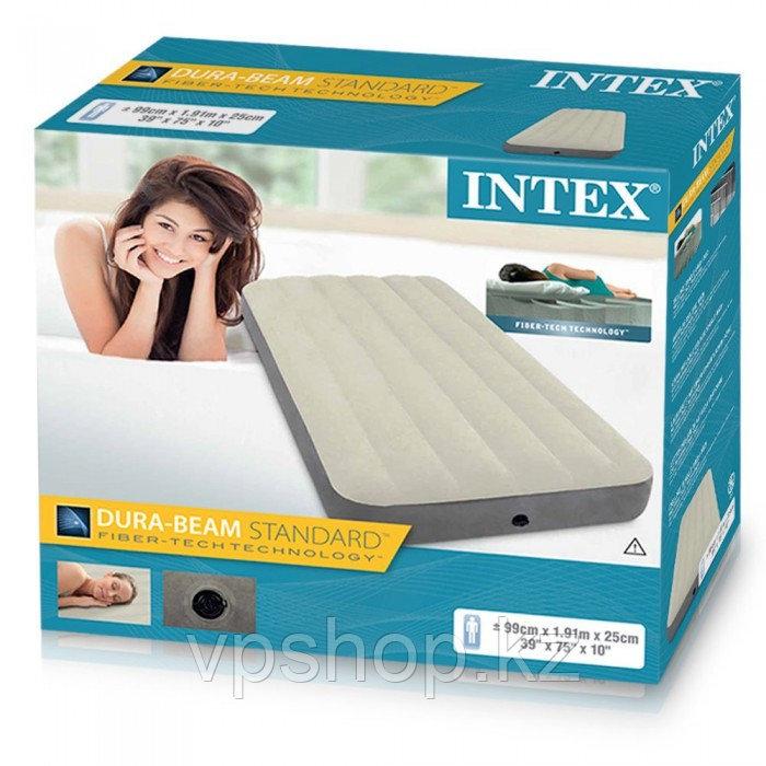 Надувной матрас INTEX Dura Beam 64707, доставка