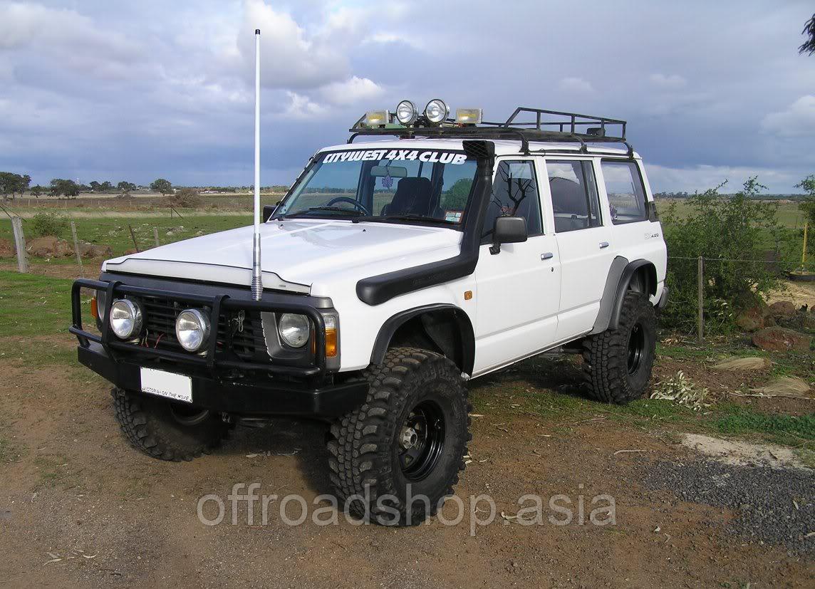 Шноркель Nissan Patrol Y60