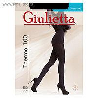 Колготки женские Giulietta THERMO 100 den, цвет чёрный (nero), размер 4