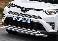 Решетка радиатора верхняя d10 (для автомобиля с передней камерой) Toyota Rav 4 , 2015-