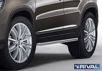 Защита порогов d57 Volkswagen Tiguan, 2011-2017