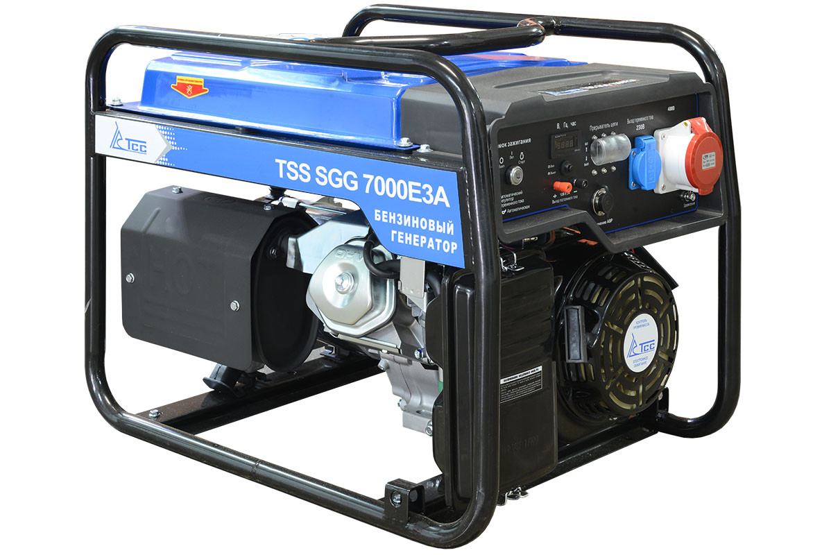 Бензогенератор TSS SGG 7000 E3A