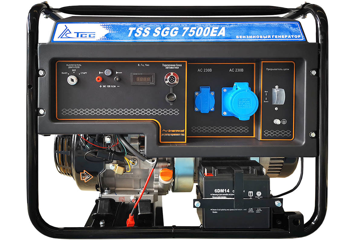 Бензогенератор TSS-SGG 7500ЕA