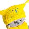 Басик Baby В шапке-сова и шарфом, фото 3