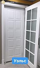 Межкомнатная дверь -эмаль Уэлс  белая