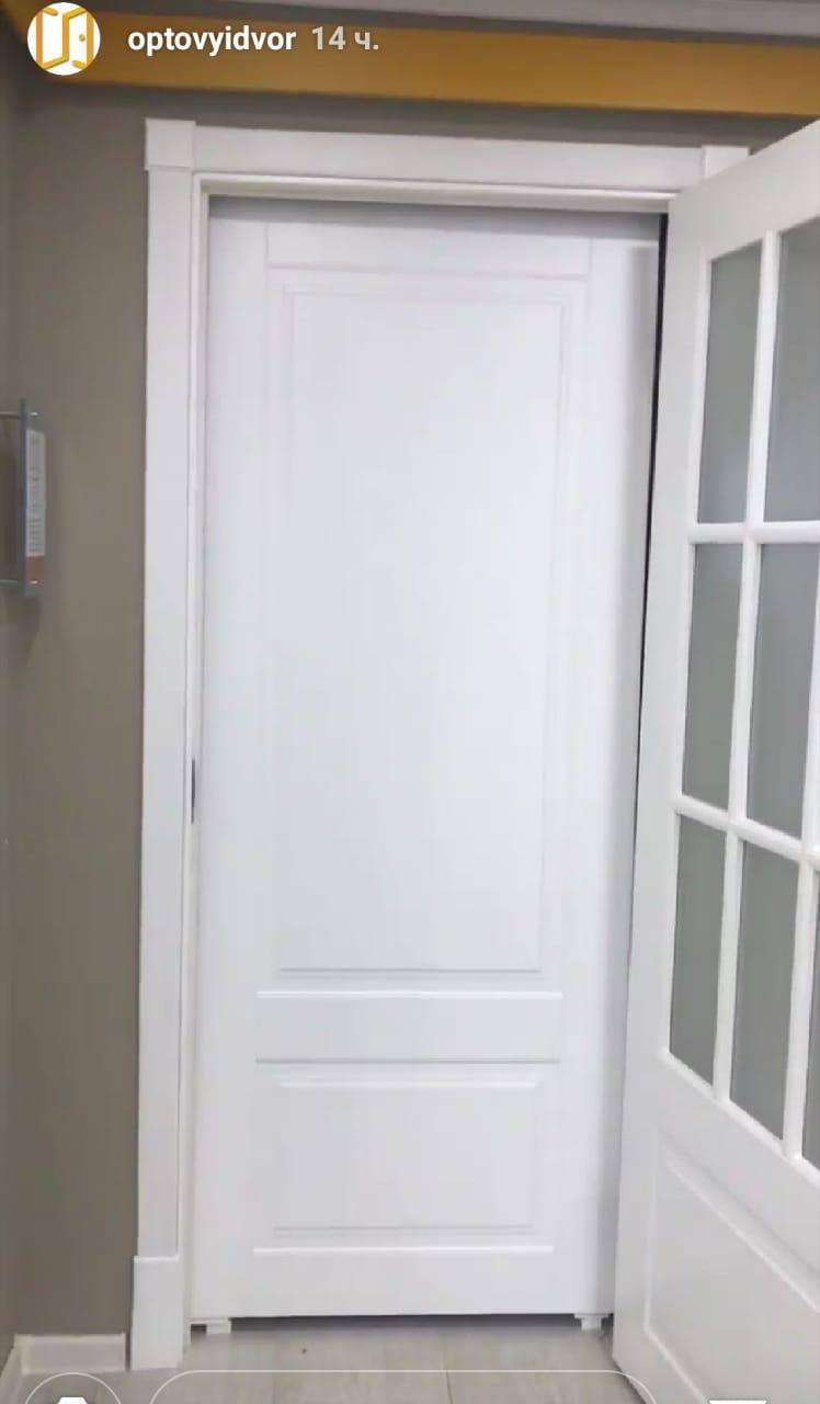 Межкомнатные двери -эмаль Уэлс2 белая