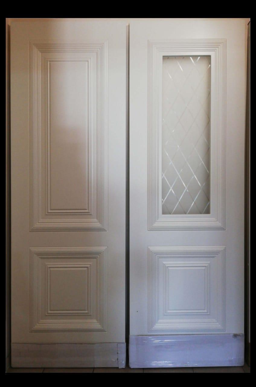 Межкомнатные двери  эмаль белая Дебют