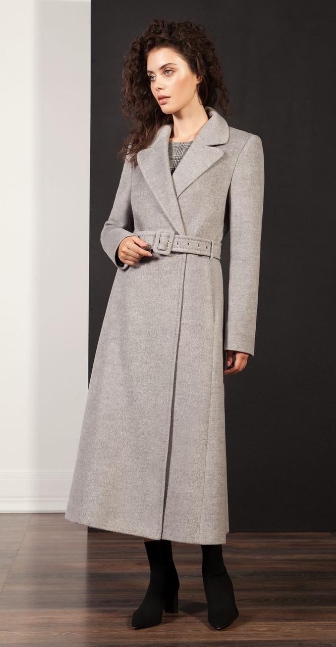 Пальто Nova Line-1922, серый, 42