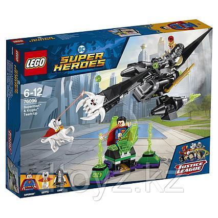Lego Super Heroes DC 76096 Супермен и Крипто объединяют усилия