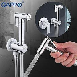 Смеситель с гигиеническим душем Gappo 7248
