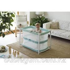 Chicco: Кроватка-манеж ZIP&GO Aquarelle