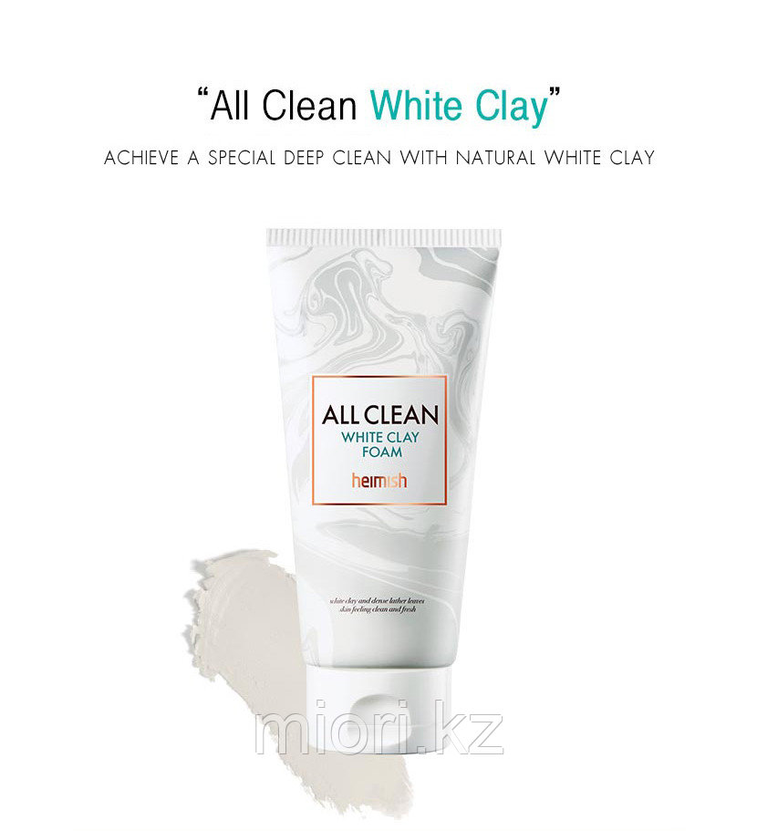 Пенка с белой глиной HEIMISH All Clean White Clay Foam