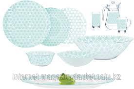 Столовый сервиз Luminarc Simply Soleil Blue 46 предметов