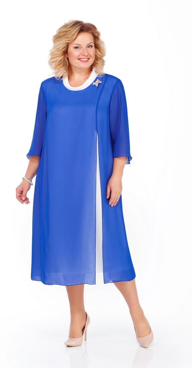 Платье Pretty-903/2, василек, 56
