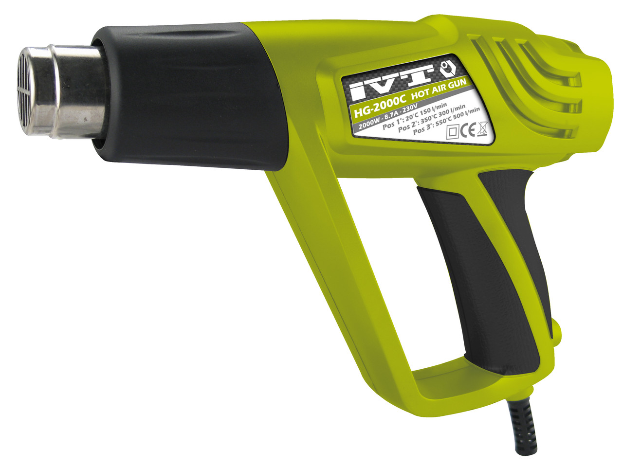 Промышленный (технический) фен IVT HG-2000C