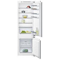 Встраиваемый двухкамерный холодильник Siemens KI 87 VVF 20R