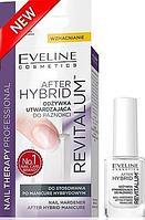 Укрепляющий кондиционер для ногтей Eveline Cosmetics After Hybrid Manicure