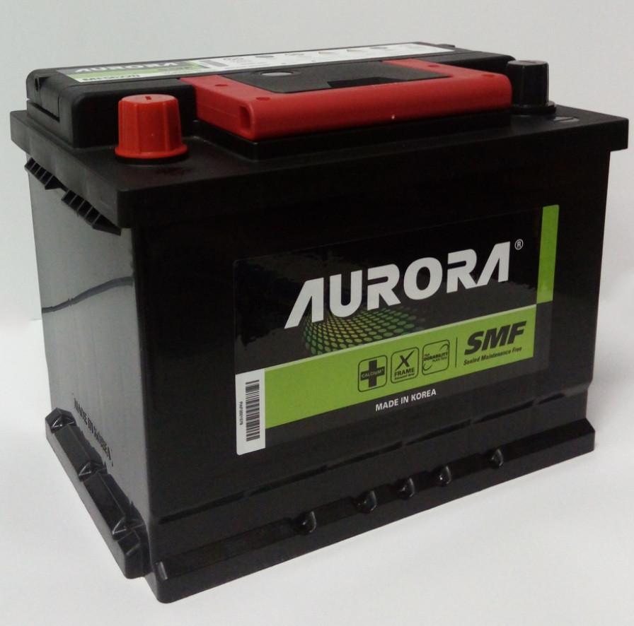 Аккумулятор автомобильный AURORA 62 Ah 56220