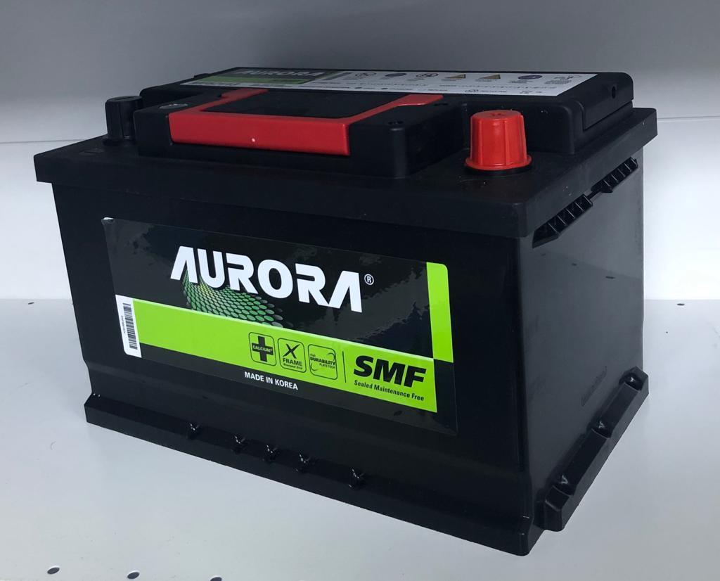 Аккумулятор для автомобиля AURORA 72 Ah 57113