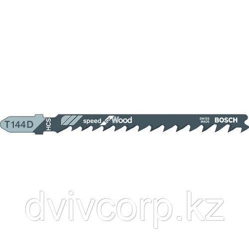100 лобзиковых пилок BOSCH T 144 D, HCS