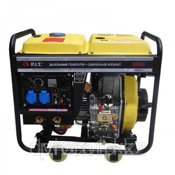 """""""P.I.T."""" Дизельный генератор + САГ 5.0 kW. 190A"""