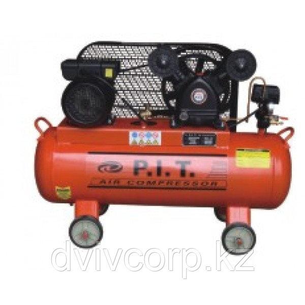 """P.I.T."" Компрессор 2-x цилиндр. 70 L 1.5 kW"