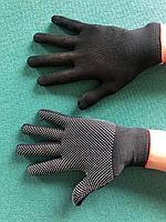 Перчатки нейлоновый с ПВХ точка