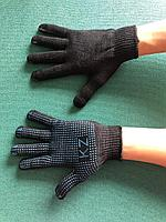 Перчатки ХБ с ПВХ 10-го класса вязки. Производство Казахстан.