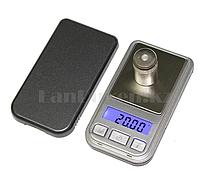 Электронные портативные ювелирные весы с чехлом Mini scale