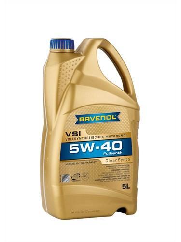 Моторное масло RAVENOL VSI SAE 5W-40 API SN 5L.