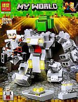 Конструктор Bela Minecraft 11135 Робот Титан