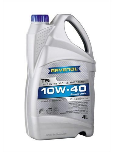 Моторное масло RAVENOL TSI SAE 10W-40 4L