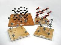 Набор моделей кристаллических решеток 9 шт