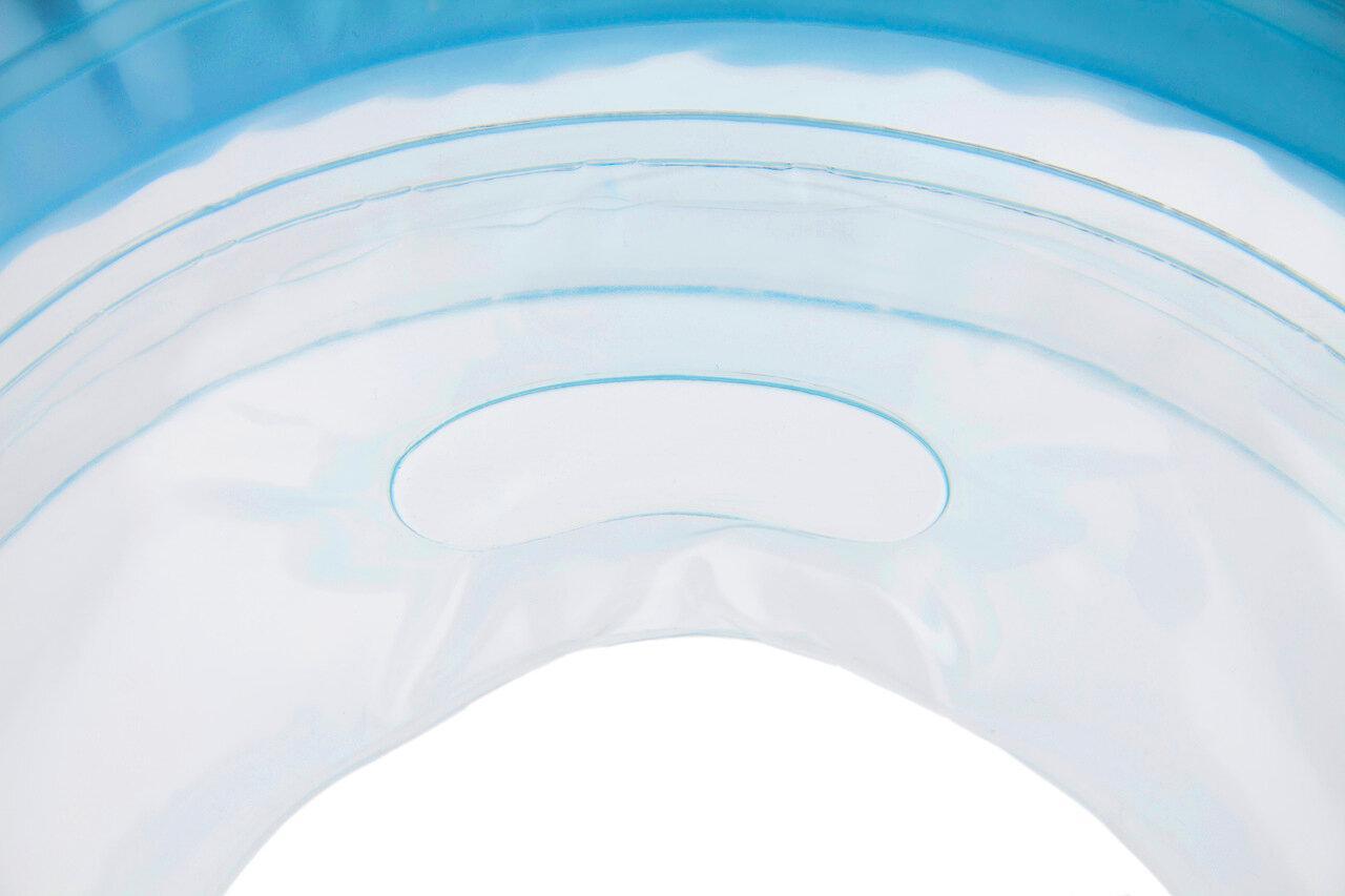 """Надувной круг на шею для купания малышей Flipper 0+ с музыкой из балета """"Лебединое озеро"""" голубой - фото 8"""