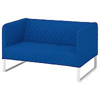 2-местный диван,КНОППАРП Книса ярко-синийИКЕА, IKEA, фото 1