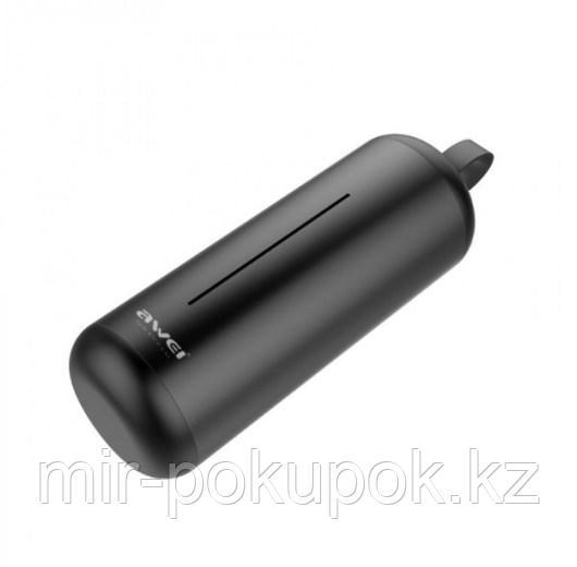 Бесспроводные портативные блютуз наушники Awei T5 с зарядным кейсом и микрофоном (bluetooth наушники) - фото 3