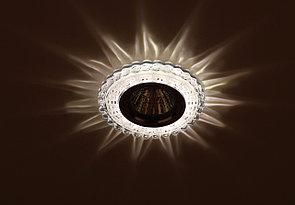 Светильник DK LD8 SL/WH декор cо светодиодной подсветкой MR16