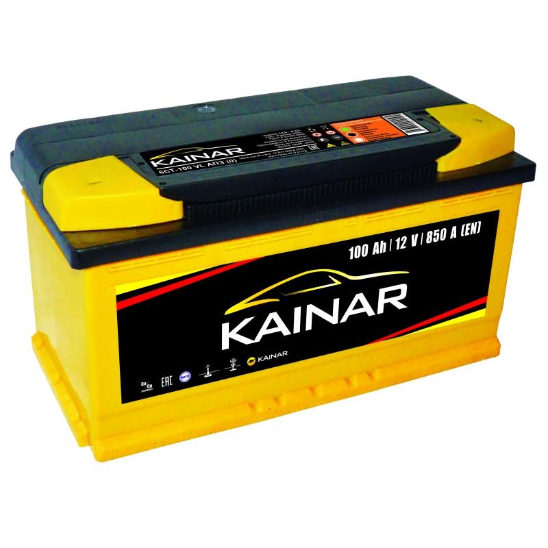 Аккумулятор для автомобиля KAINAR 6СТ-100 VL AПЗ (0)